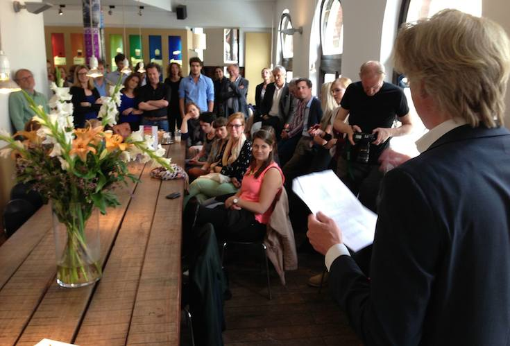 Uitreiking Coffeecompany Book Award 2014