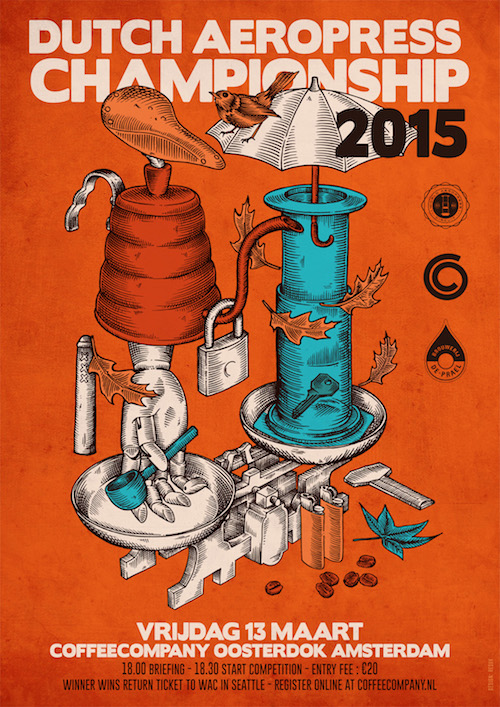 Dutch Aeropress Championship 2015